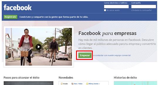 segunda cuenta publicitaria facebook 2