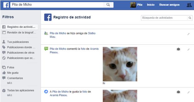 Como ocultar o restringir la actividad reciente de nuestro perfil personal en Facebook
