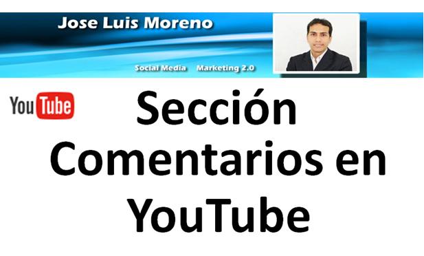 Canal de YouTube: Acceder a la sección comentarios