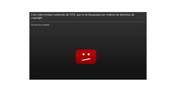 Normas sobre derechos de autor en YouTube (copyright)