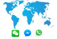 uso de mensajeria instantanea en el mundo