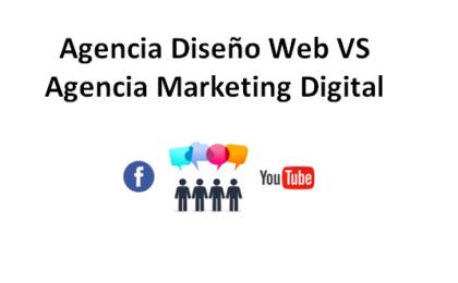 agencia diseno web vs agencia marketing digital