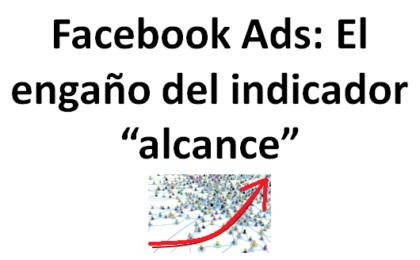 facebook ads engano indicador alcance